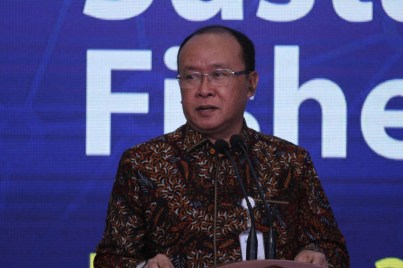 Dr. Arifin Rudiyanto, Deputy for Maritime Affairs and Natural Resources at BAPPENAS
