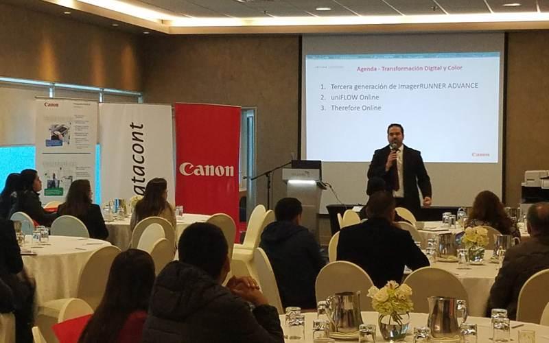 Canon presentó innovadoras soluciones de impresión para el mercado peruano