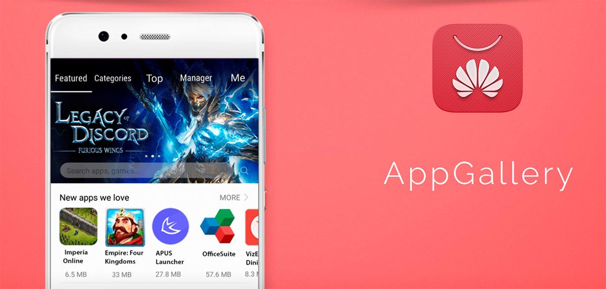 Huawei ha trabajado en la construcción de una alternativa de Play