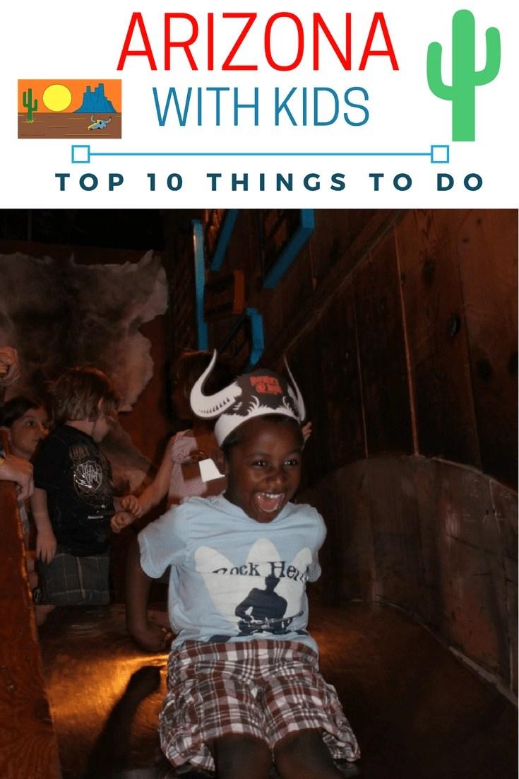 Top 10 Things to do in Arizona for Spring Break with kids. #arizona #springbreak