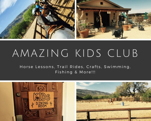 Tanque Verde Ranch - Amazing kids club