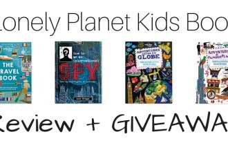 Lonely Planet Kids Book Review + Giveaway | Global Munchkins
