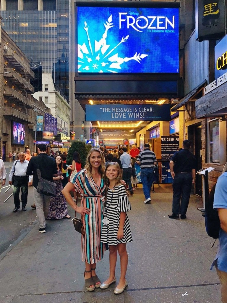 Things to do in New York with Kids - Frozen