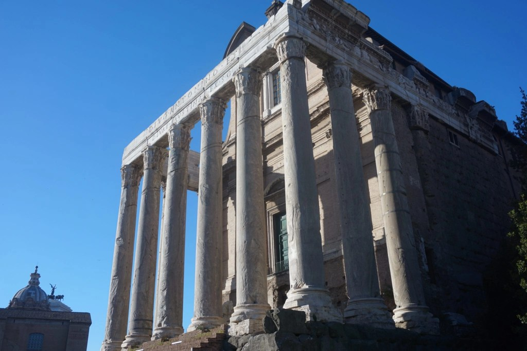 Photo of the Temple of Romulus- Global Munchkins