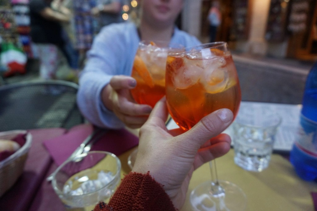 Cheers to a delicious apple cocktail in Rome- Global Munchkins