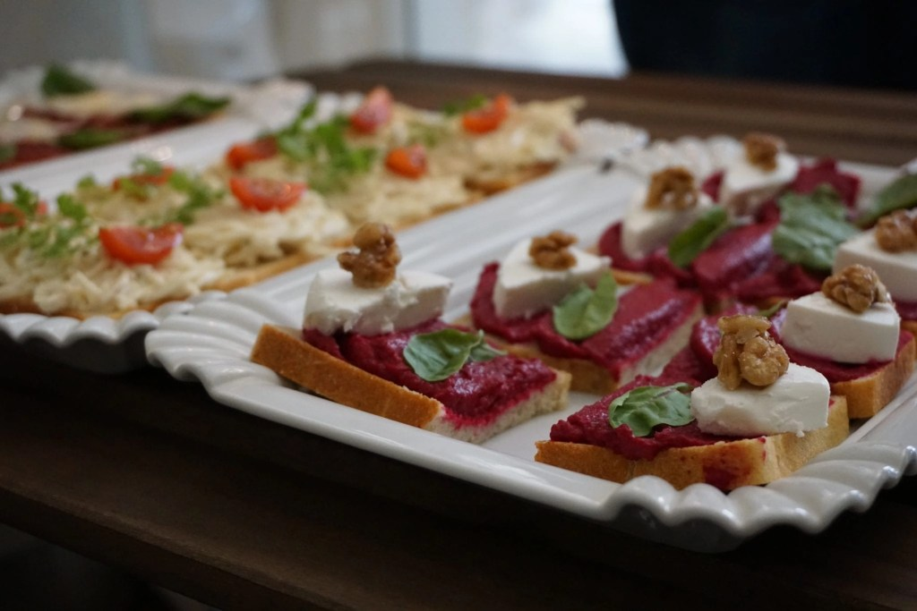 Delicious Open Faced Sandwiches in Prague on the Eating Prague Food Tour by Global Munchkins