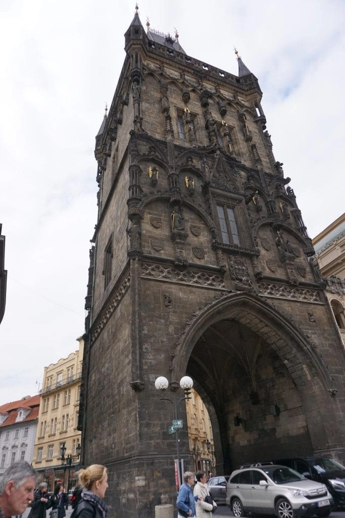 Tower in Prague separating Old and New Town by Global Munchkins