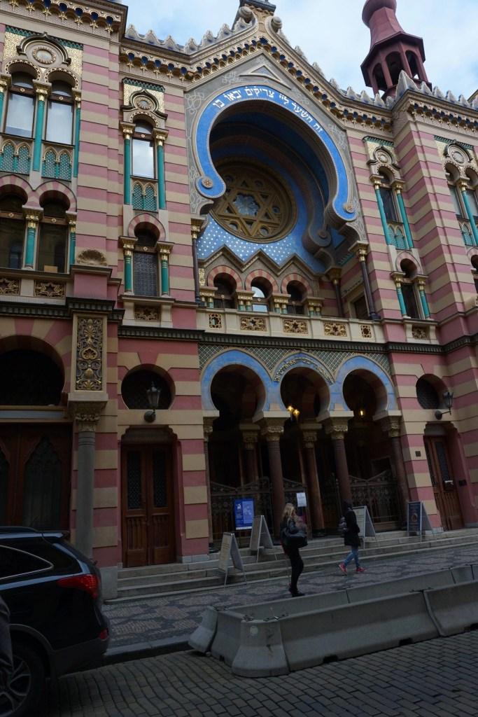 Jewish Temple in Prague