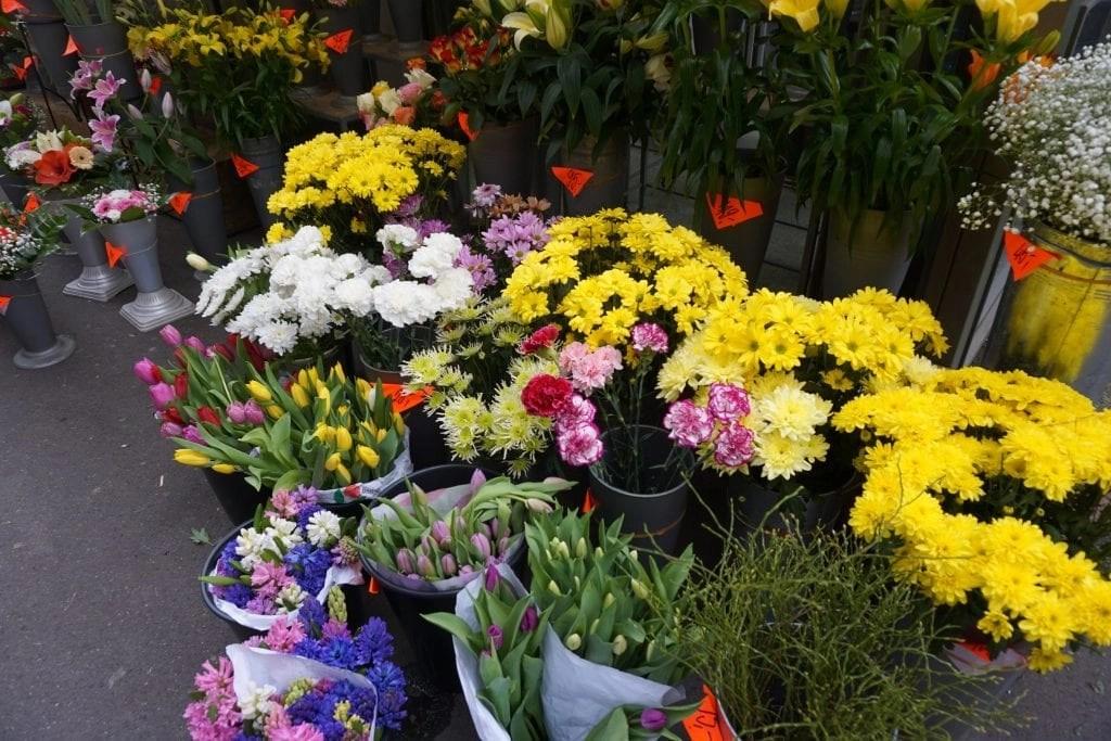 Flower Shop in Prague