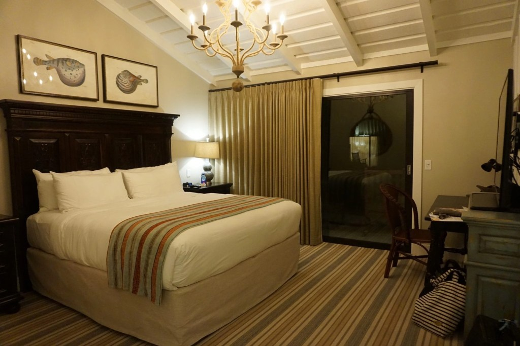 Room at The Ranch at Laguna Beach. A review of the newly renovated trendy and hip hotel in Laguna Beach California.   Global Munchkins