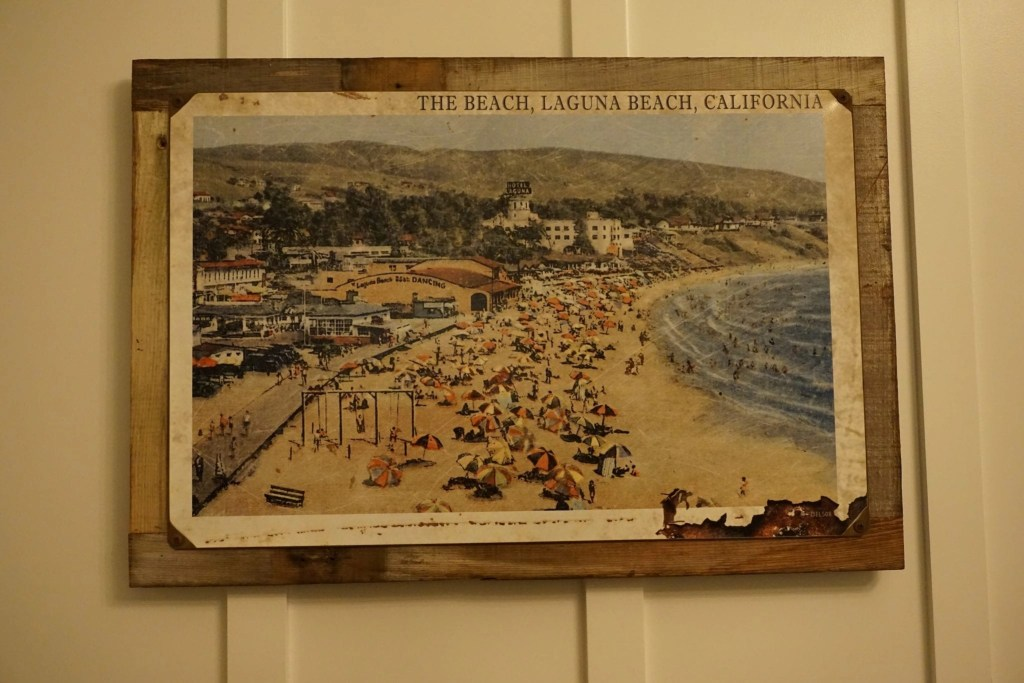 Local Art from Laguna Beach featured throughout the rooms at The Ranch Laguna Beach. Check out my full review of this recently renovated trendy hotel in Laguna Beach   Global Munchkins