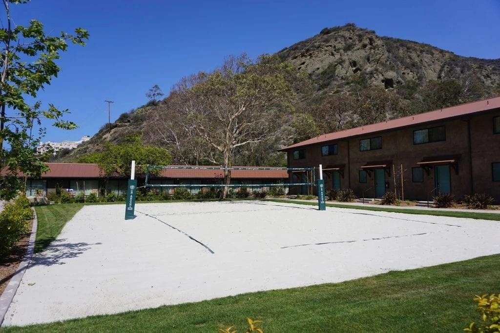 Volley ball at the Ranch at Laguna Beach