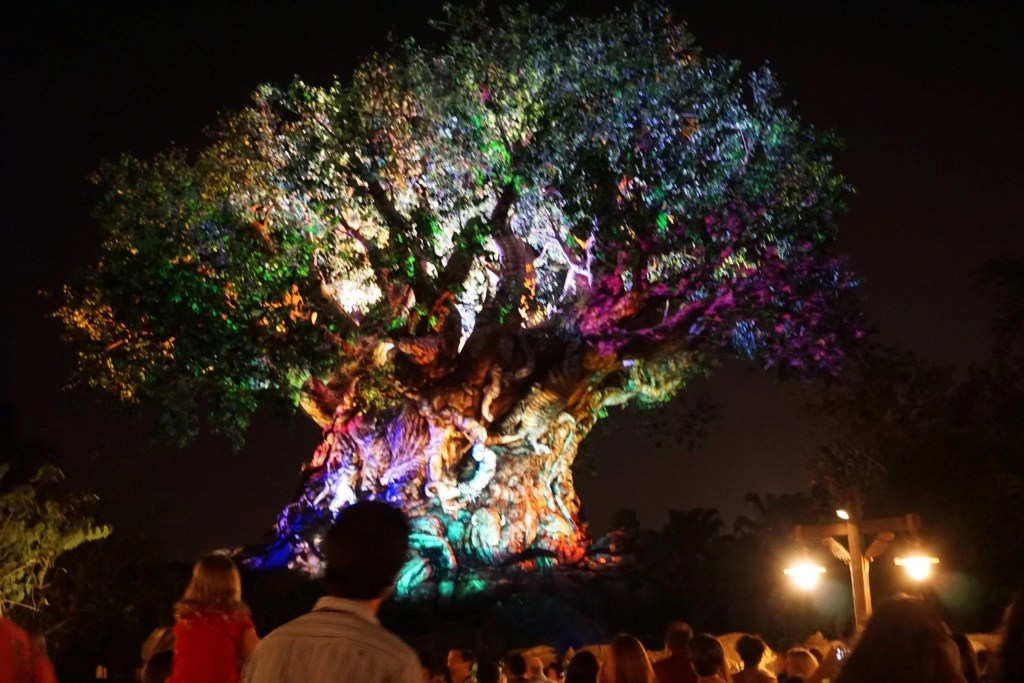 Tree of Life at Animal Kingdom Lighting Up #AwakenSummer at Disney SMMC event | Global Munchkins