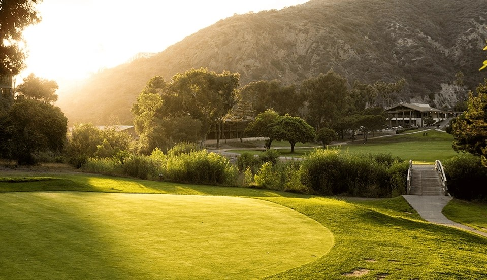 Photo of the golf course at The Ranch at Laguna Beach. This is my favorite Laguna Beach Resort