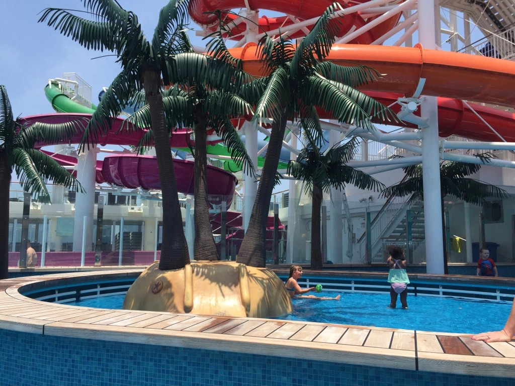 Splash Park on NCL Getaway Cruise Ship
