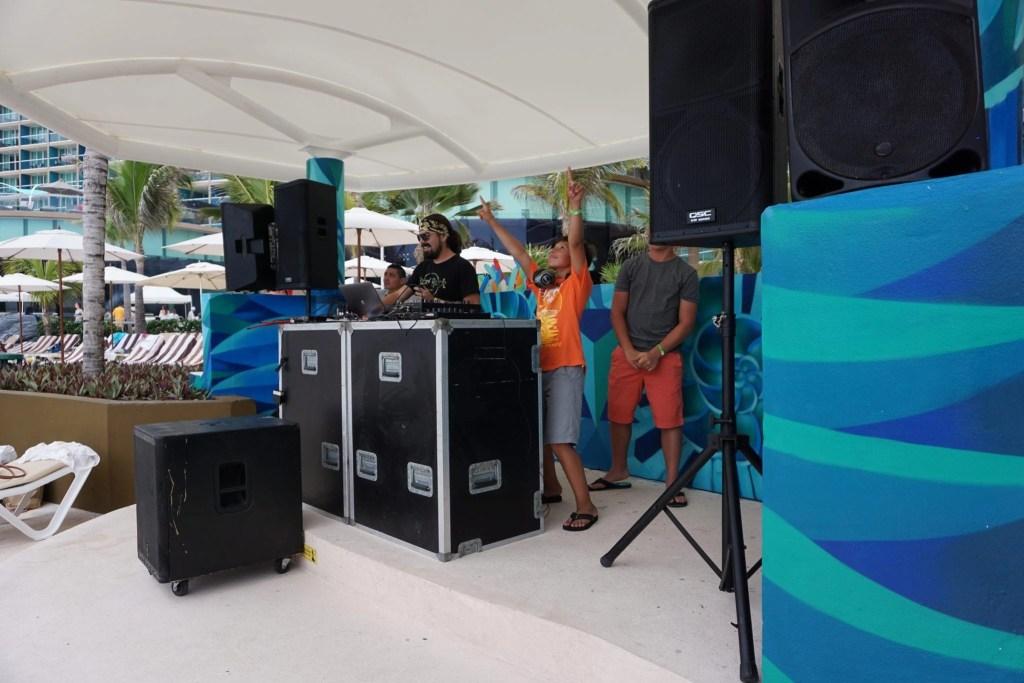 Kid Dj at the Hard Rock Cancun