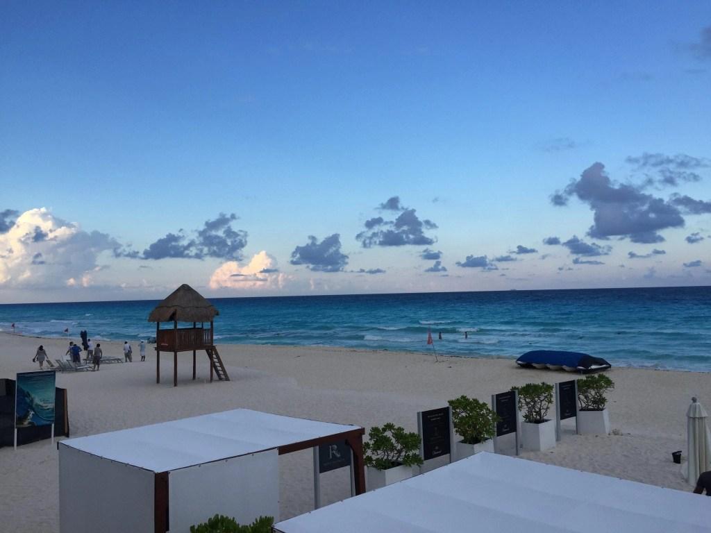 Beach at the Hard Rock Cancun