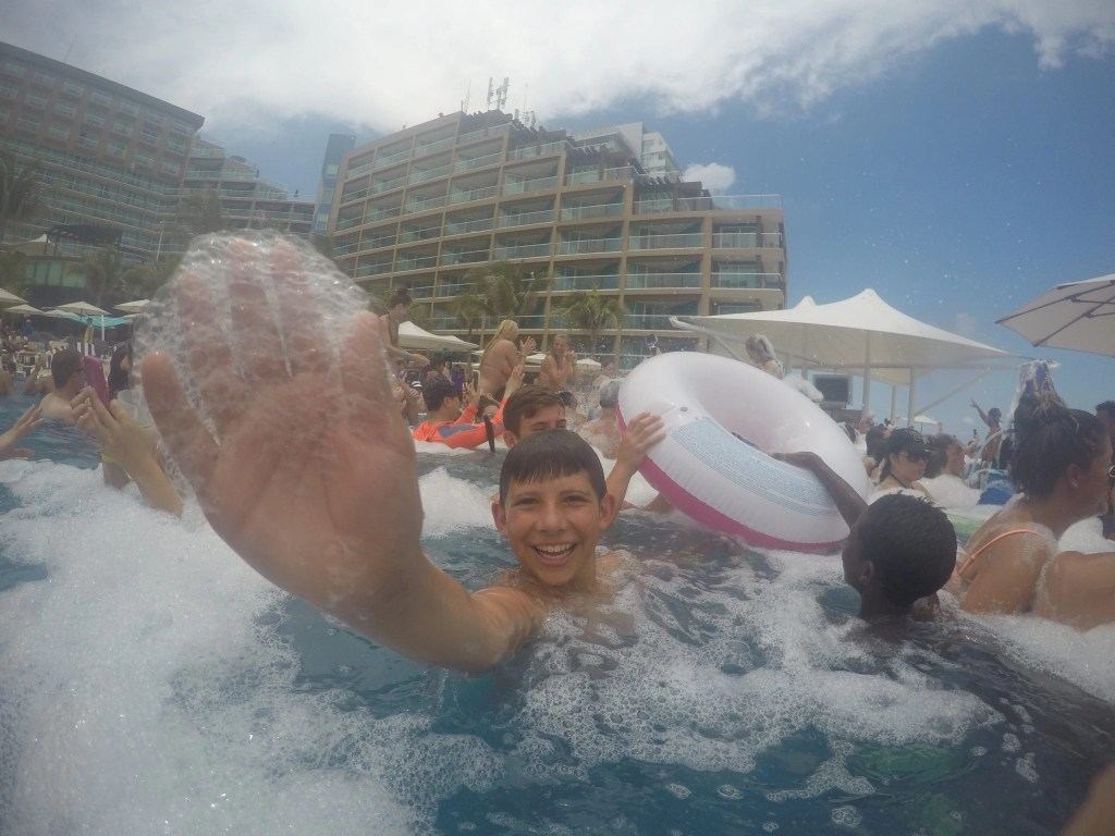 Foam Party at the Hard Rock
