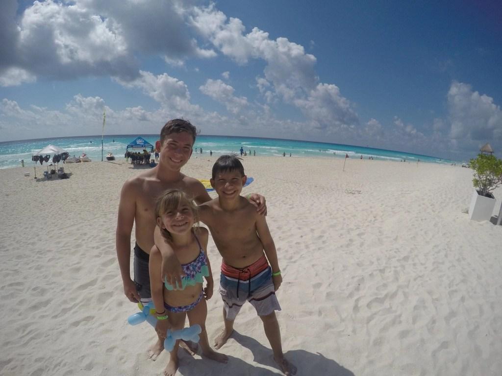 Kids at Beach at Hard Rock Hotel