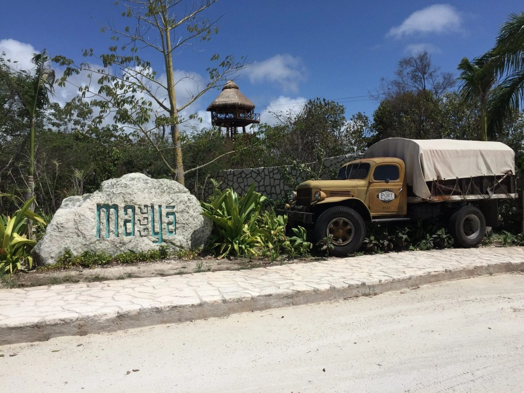 Maya Park- Lost Mayan Kingdom entrance