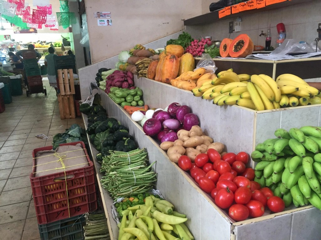 Fruit Market in Cozumel on our Cozumel Chef Food Tour