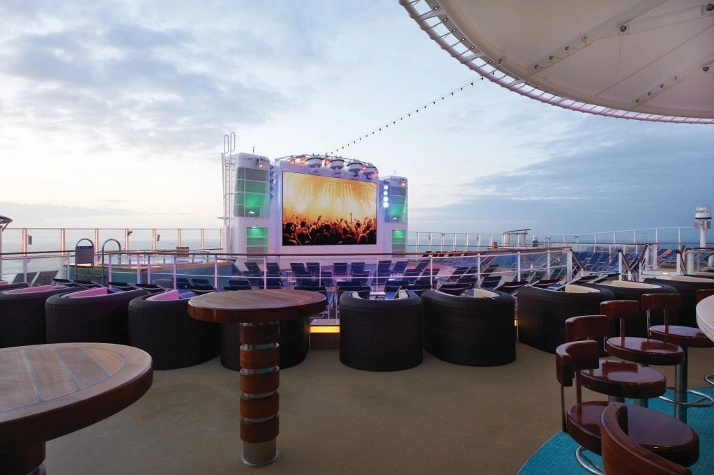 Norwegian Getaway Outdoor Movies at Spice H2O