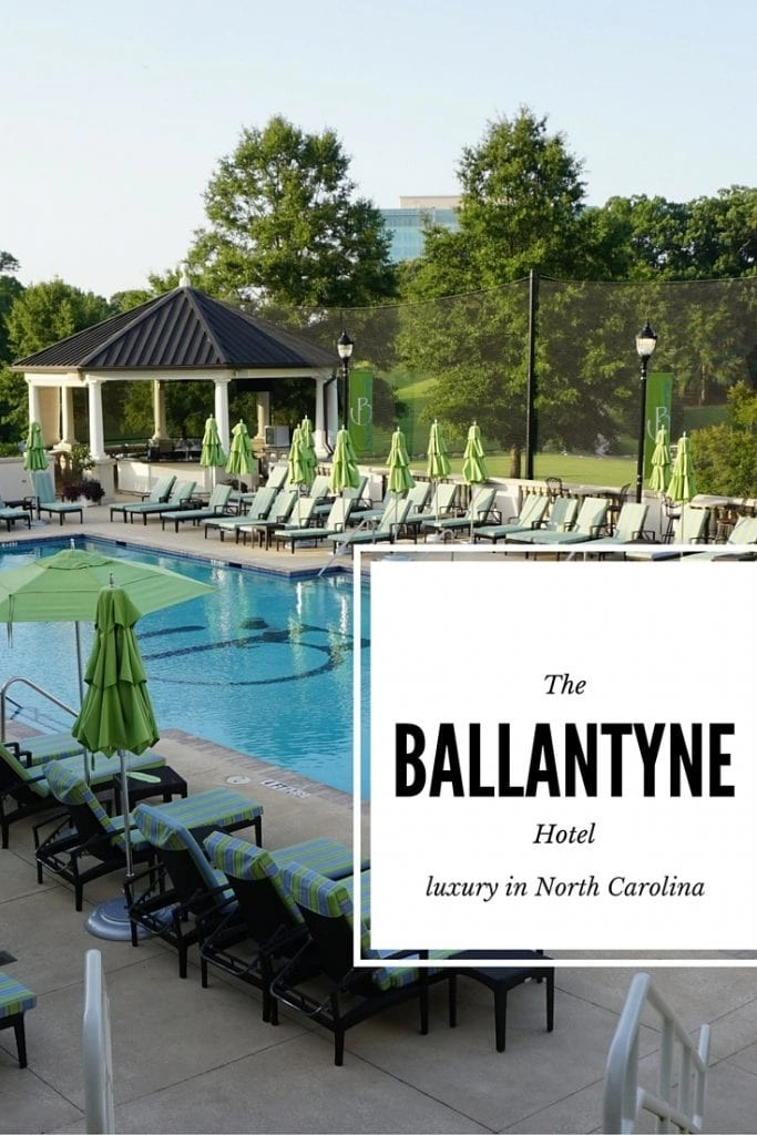A review of the Ballantyne Hotel in North Carolina   Global Munchkins
