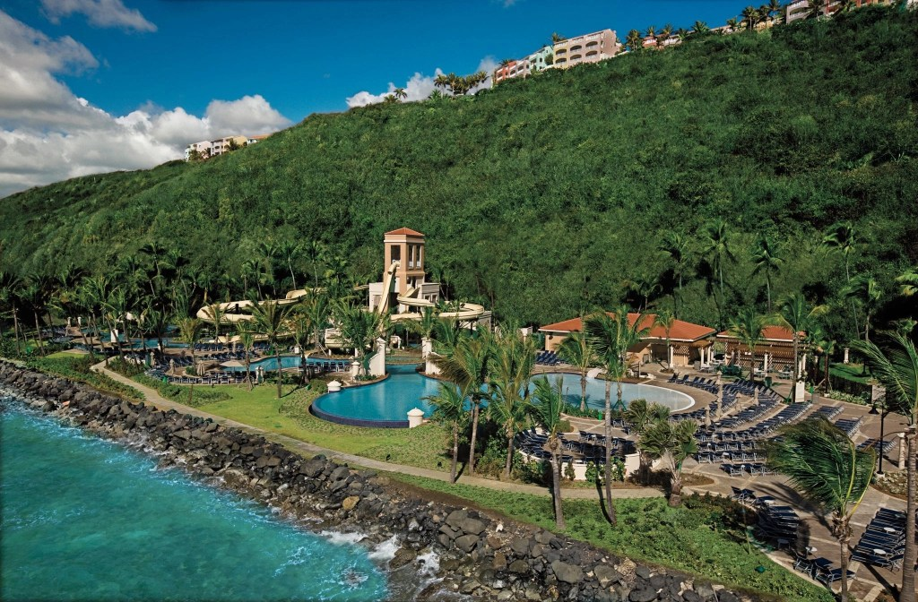 Coqui Water Park located at El Conquistador Resort in Puerto Rico