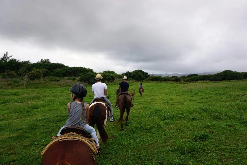 Gunstock Ranch Horseback Ride in Oahu