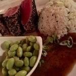 Sesame Crusted Tuna at Stongray Cafe in El Conquistador resort in Puerto Rico
