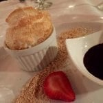 S'mores Souffle at Stongray Cafe in El Conquistador resort in Puerto Rico