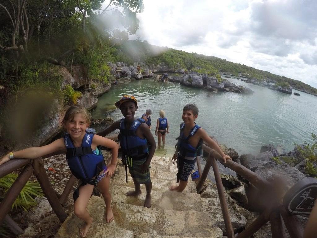 Swim in Cenotes at Xel-Ha Eco Adventure Park in Cancun Mexico