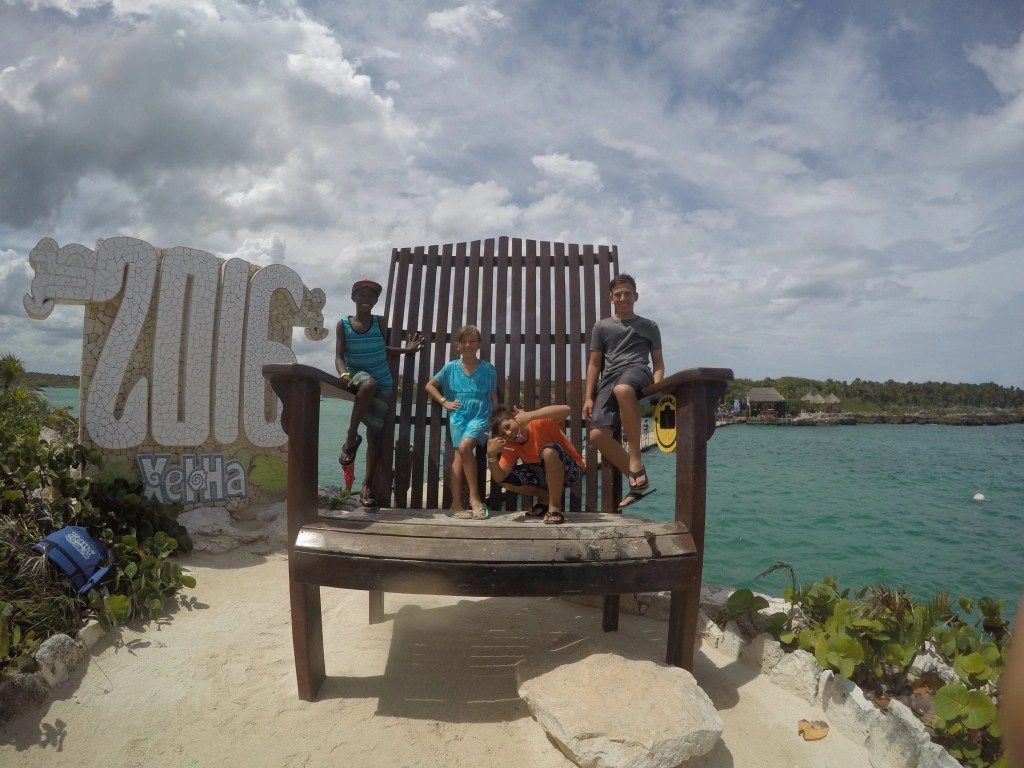 Family Fun in Mexico at Xel-Ha Eco-Park