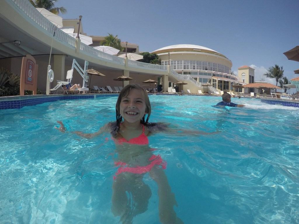 El Con Resort Pool in Puerto Rico