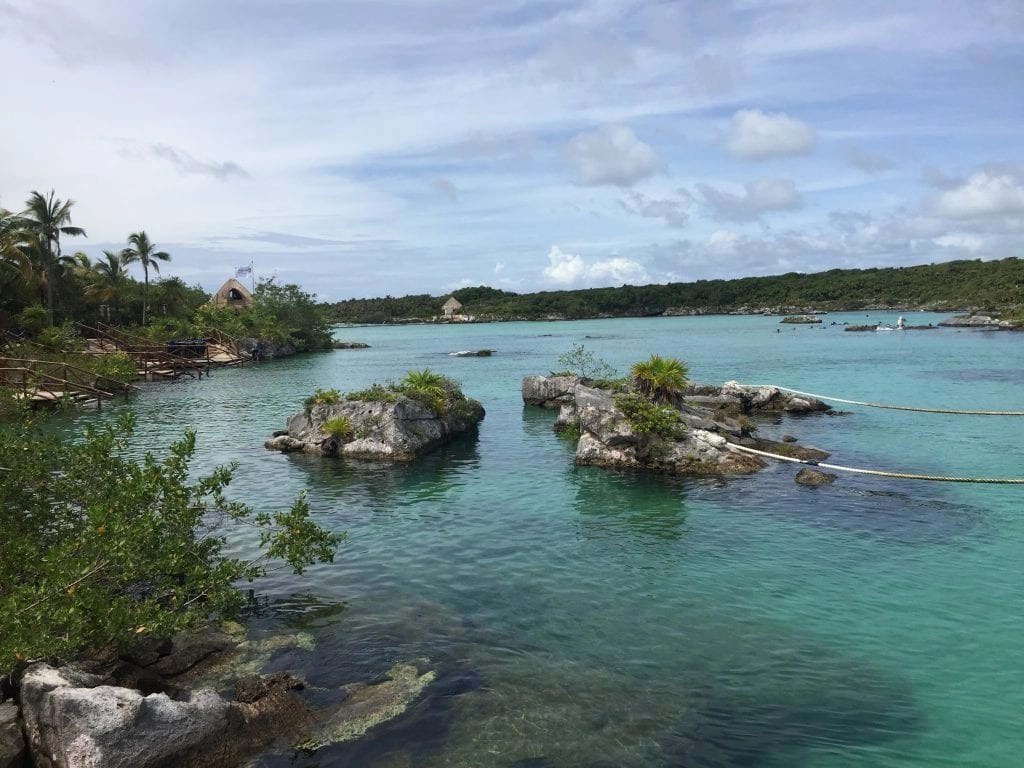 Gorgeous Snorkeling Lagoon at Xel-Ha in Cancun Mexico