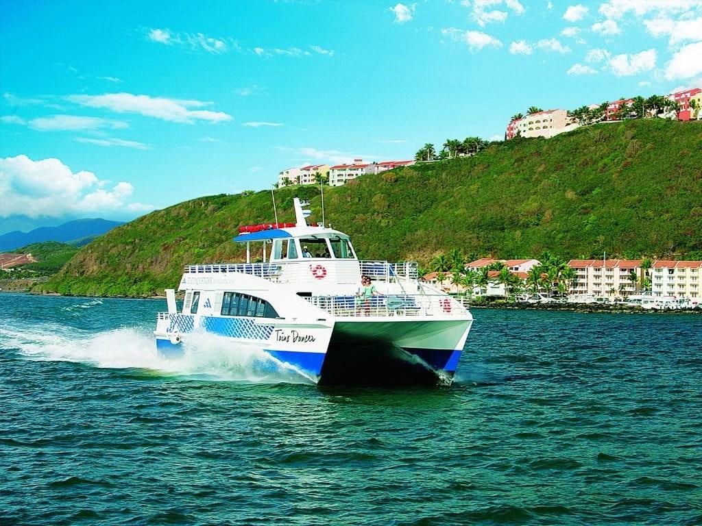 catamaran-to-palomino-El Conquistador Resort in Puerto Rico