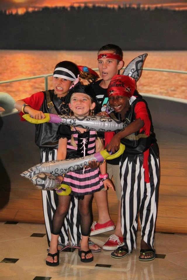Pirate Themed Night on Disney Cruise Line | Global Munchkins