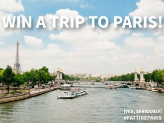 Win a Trip to Paris from Fat Tire Paris | Global Munchkins