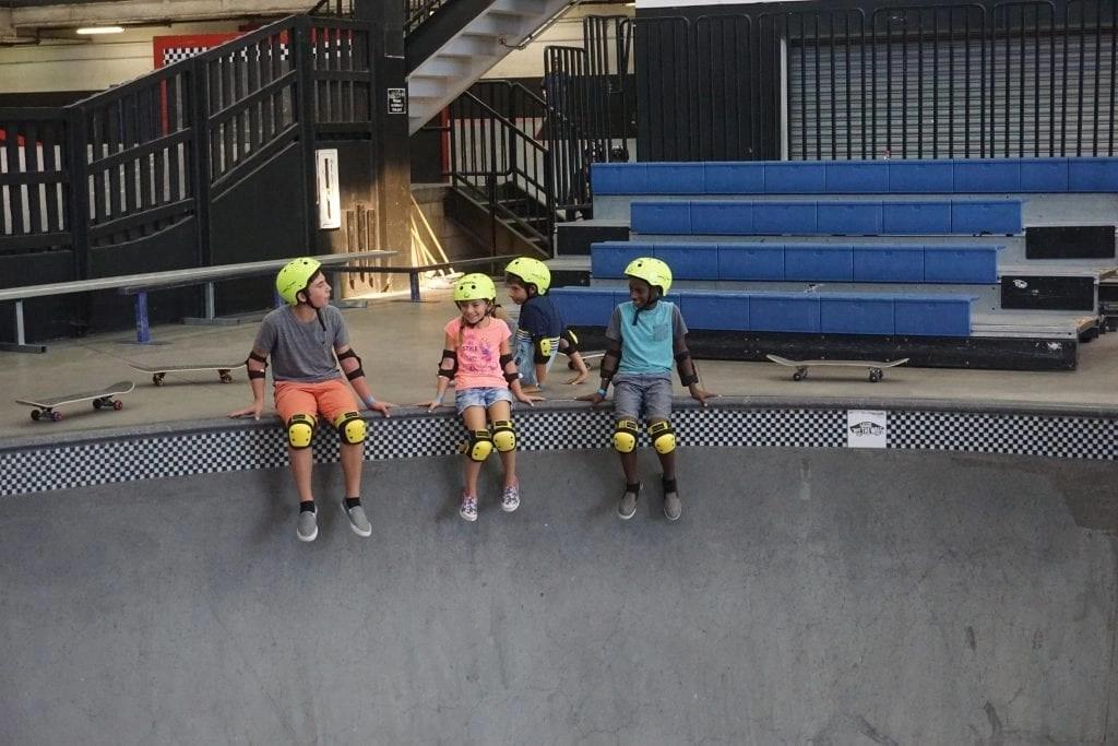 Com Pool at Vans Skatepark in Orange County