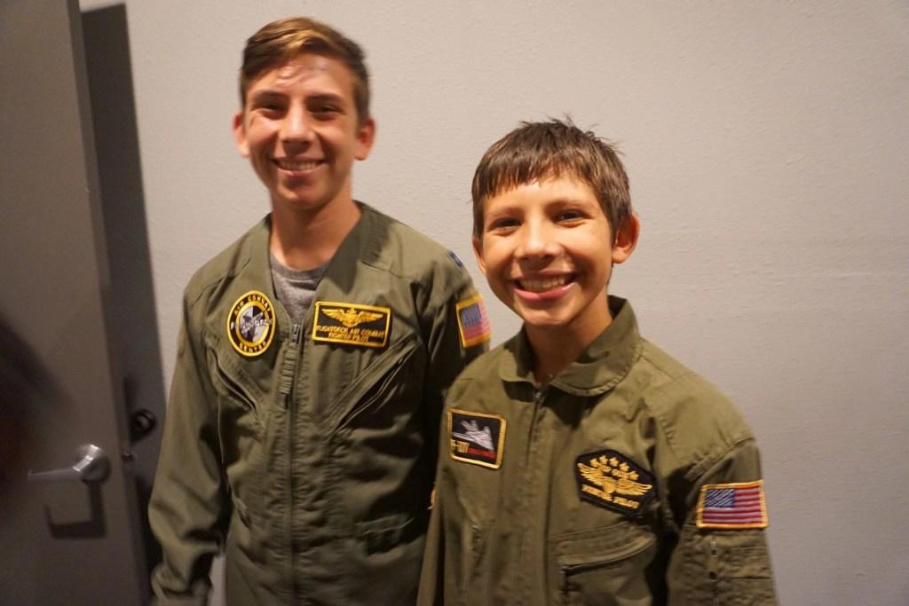 Flightdeck experience in Anaheim CA   Global Munchkins