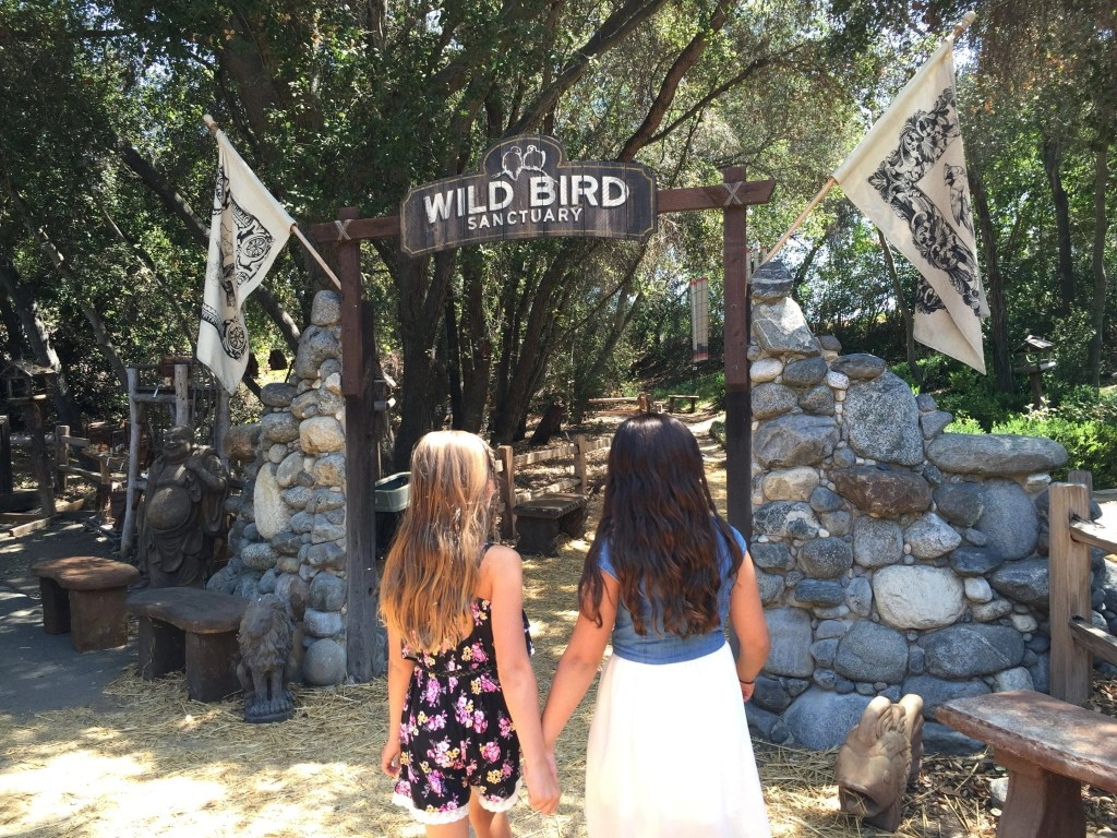 Bird Sanctuary at Myrtle Creek Botanical Gardens in Fallbrook CA | Global Munchkins