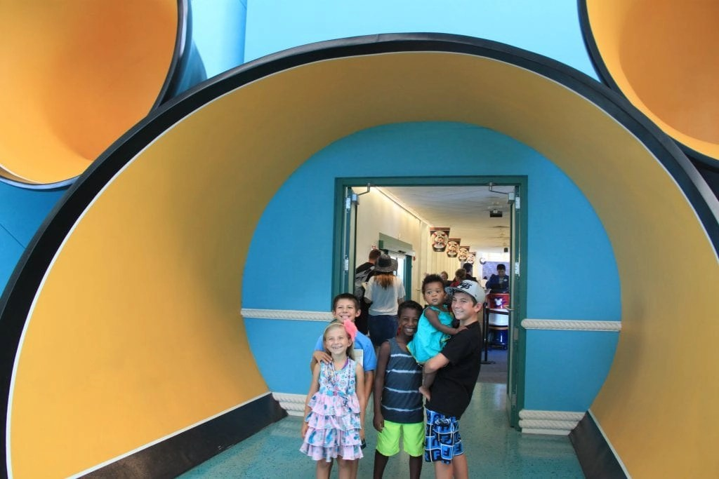 Entrance to Board Disney Cruise Line | Global Munchkins
