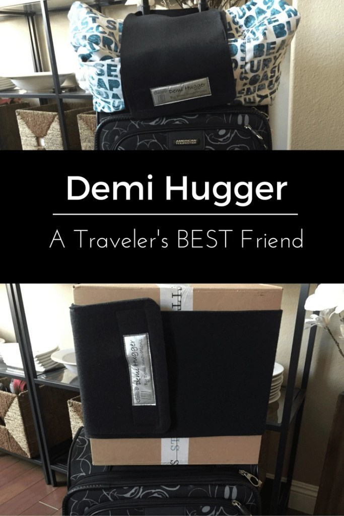 Best New Travel Gadget. The Demi Hugger a must have for travelers and traveling families | Global Munchkins
