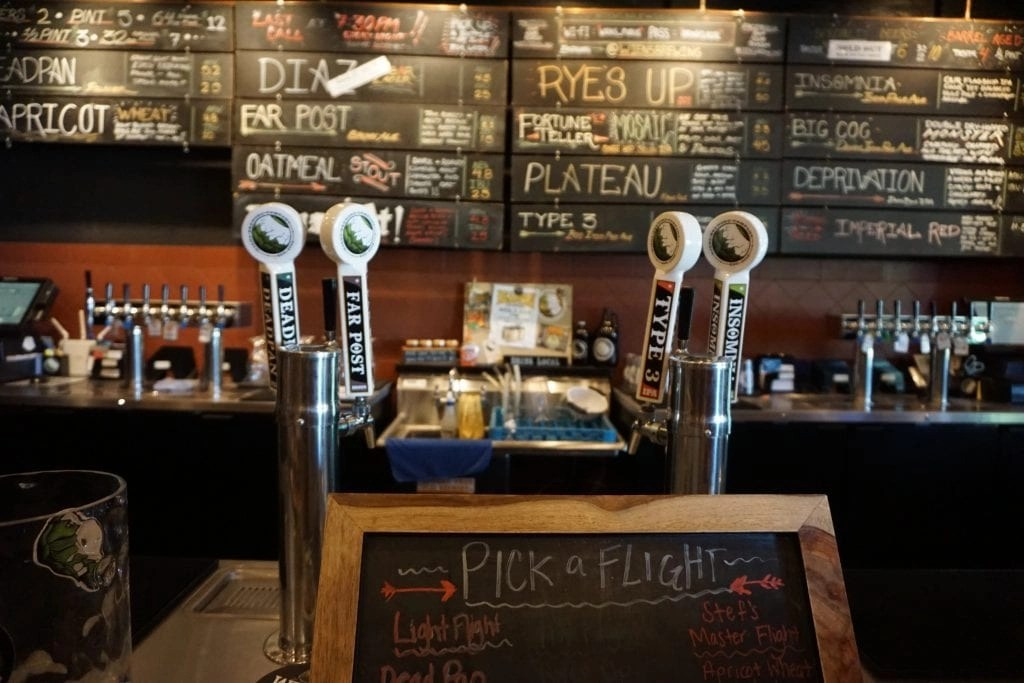 Bar at Wiens Brewing Co. in Temecula | Global Munchkins