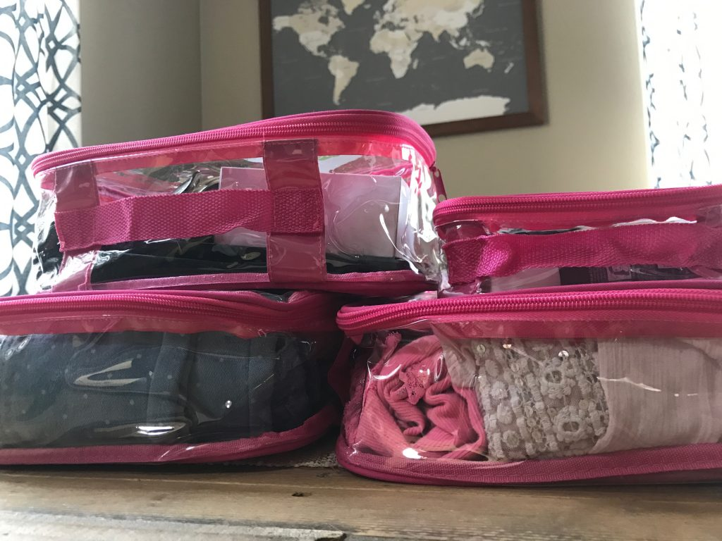 Stay organized with EZ Packing Cubes | Global Munchkins