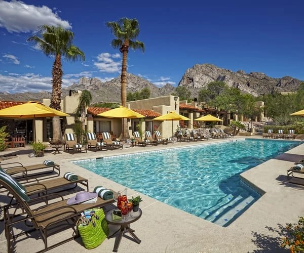 Tucson hotel pool