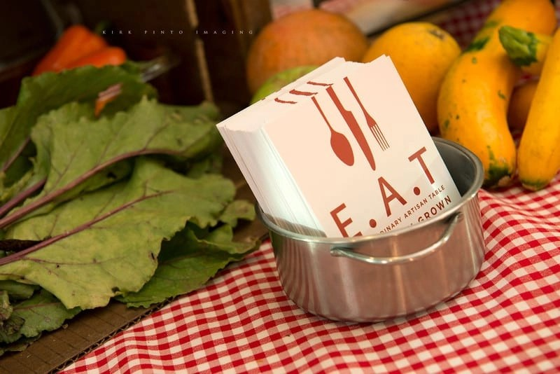 E.A.T. Marketplace offers farm to table catering for weddings, corporate and private events