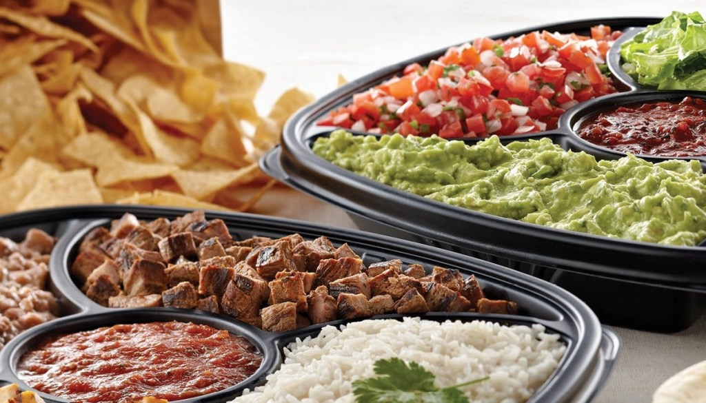Rubio's Coastal Grill has fantastic catering options available for very affordable prices.