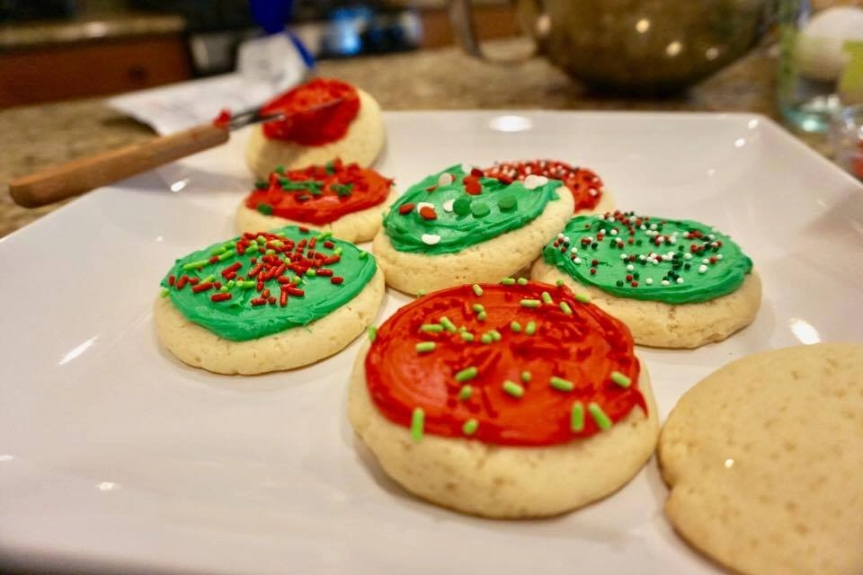 A yummy copycat recipe of the soft sugar cookies I find at Target. Perfect for kid chefs