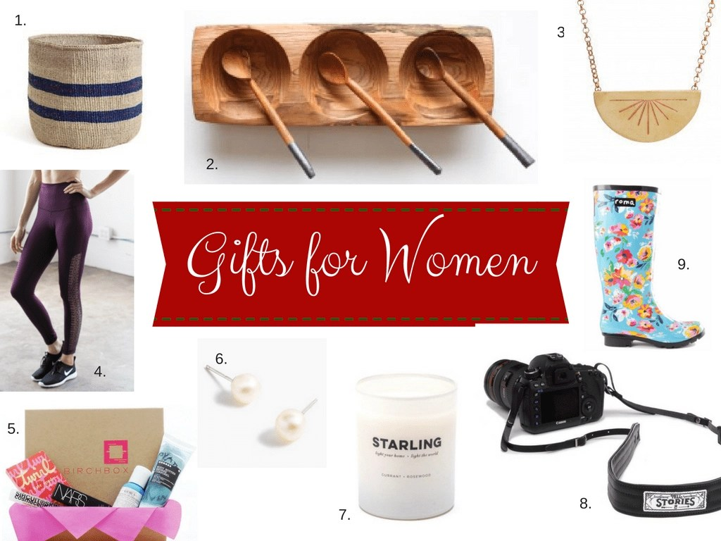 Unique gift ideas for mom, gifts your wife will love and more